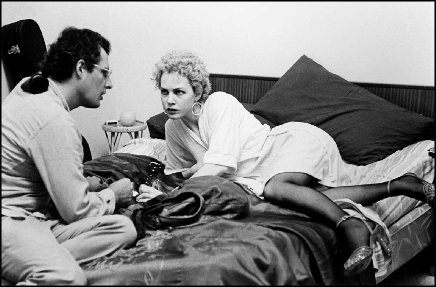 "Director John Duigan and Actor Judy Davis ""Winter of our Dreams"" - Sydney 1981"