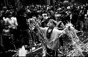 Boy at Australian Test Cricket Victory Parade Sydney c.1987