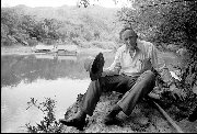 "Sir Edward ""Weary"" Dunlop - River Kwai Thailand 1987"