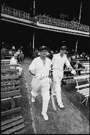 Norman O'Neill and Bill Lawry - SCG 1964