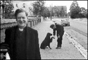 Adelaide priest & arts patron Father Owen Farrell - 1964